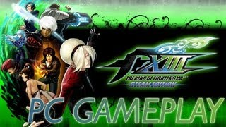 The King of Fighters XIII Steam Edition 1080p Full HD PC Gameplay on MSI GTX 580 Lightning Edition
