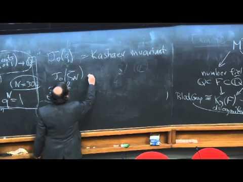 Day 4: Mathemtics Session, Don Zagier