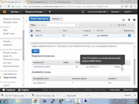 Creating Aws AutoScaling Group With ELB and Update instances in AutoScaling  Group