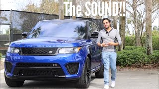 Video The Range Rover Sport SVR is Ridiculously Fun! download MP3, 3GP, MP4, WEBM, AVI, FLV Agustus 2018