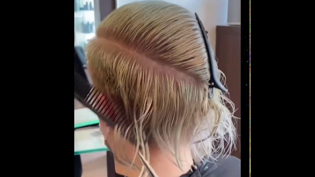 "💯 SALON ""live"" VIDEO: Boyish Cut by Naomi Friese (2nd yr. student)"