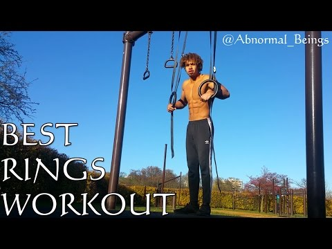 Best Rings Workout 25+ exercises beginner to advanced