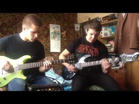 Инструментальный кавер на группу Metallica
