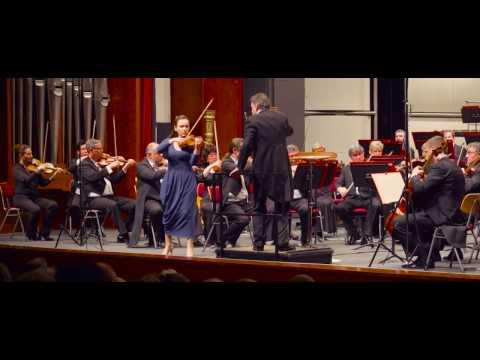 Introduction and Rondo-Capriccioso by Camille Saint-Saéns. Maria Azova - violin