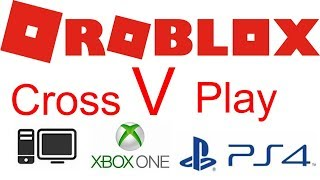 How to cross play on Roblox