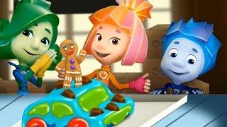 ФИКСИКИ - ШОКОЛАД (Фиксики новые). Фиксики игра! Познавательные мультики для детей. Фиксики мультик