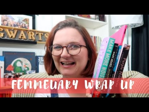 Femmeuary Wrap Up | Lauren and the Books