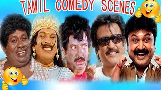 Tamil Comedy Scenes    Vadivelu    Vivek    Santhanam    Senthil Full Comedy Scenes Collection 9
