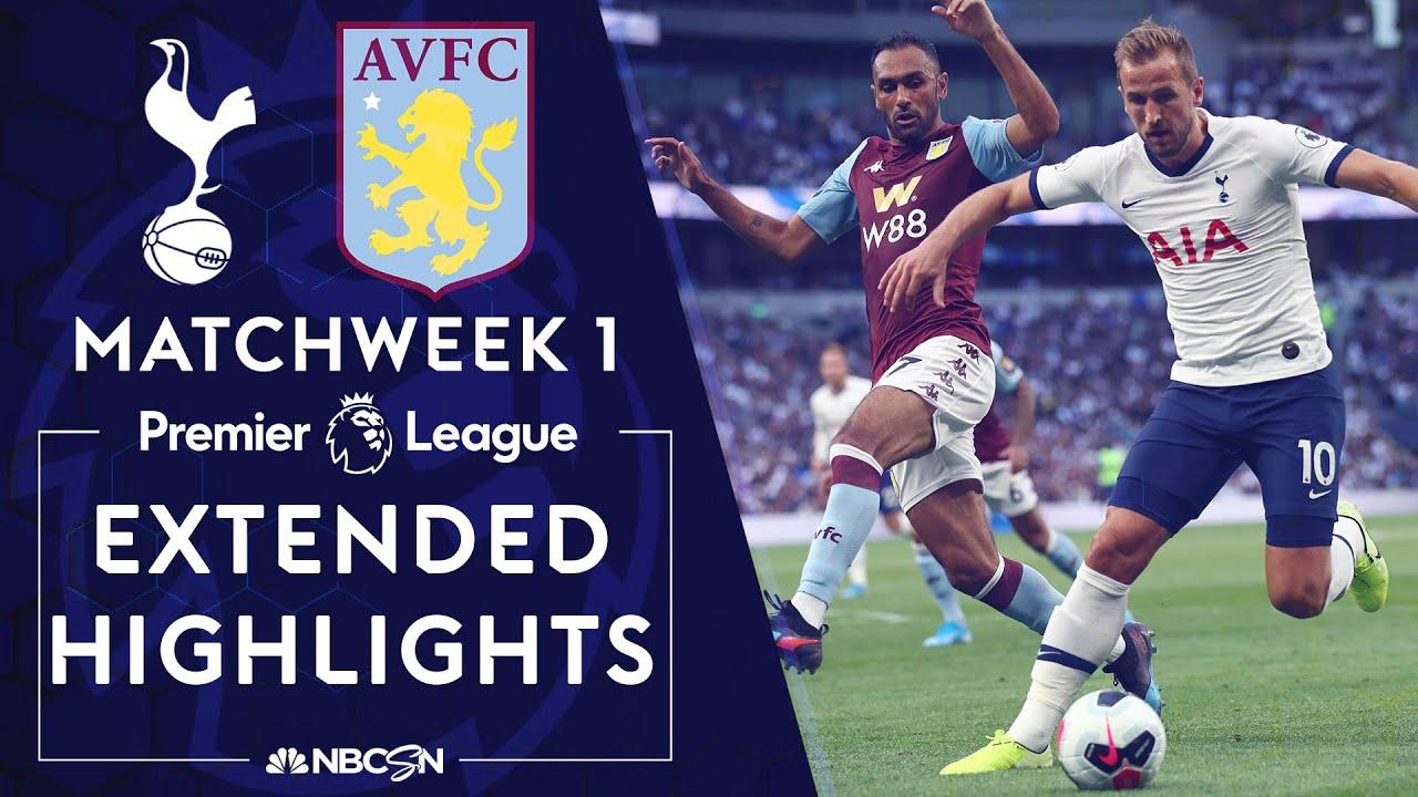 Tottenham v. Aston Villa | PREMIER LEAGUE HIGHLIGHTS | 8/10/19 | NBC Sports