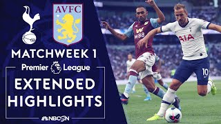 Tottenham v. Aston Villa | PREMIER LEAGUE HIGHLIGHTS | 8/10/19 | NBC Sports