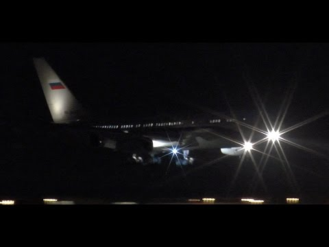 Ilyushin IL-96 Russian Government | Landing at Amsterdam Schiphol Airport