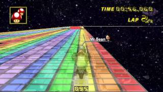 [MKWii] SNES Rainbow Road (custom track) - 2