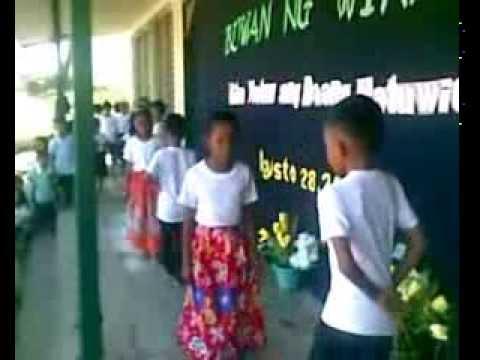 San Bernardo Elementary School Buwan Wika Folk Dance
