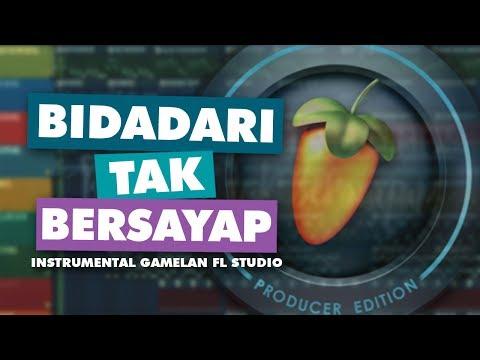 ANJI - BIDADARI TAK BERSAYAP | (COVER) Instrumental Gamelan Version FL Studio