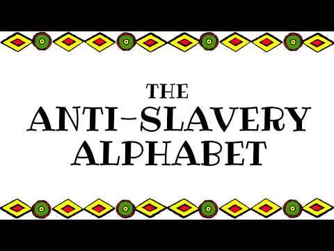 Anti Slavery Alphabet Rhyme for Children - American History Story for Kids