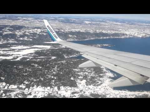 Flight into St.John's, Newfoundland