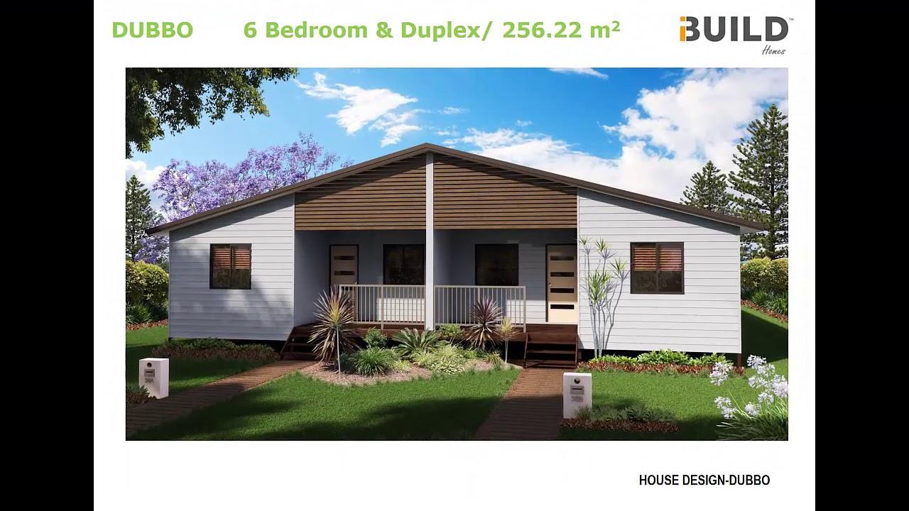 6 bedroom ibuild kit homes dubbo youtube for 6 bedroom kit homes
