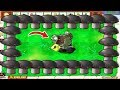 Doom Shroom vs Gargantuar - Plants vs Zombies Battlez