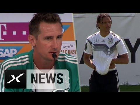 Miroslav Klose: Darum fährt Leroy Sane nicht zur WM   DFB-Team   WM 2018   SPOX