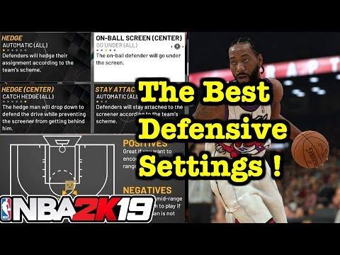 NBA 2K19 Defensive Settings Tutorial : How to Play Defense 2K19 How to use  Defensive Settings #8