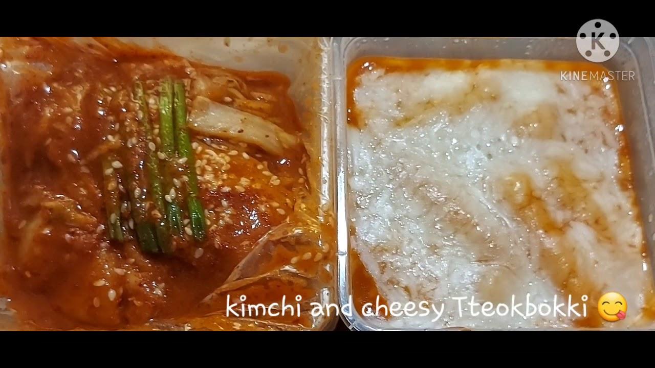 kimchi+Tteokbokki(trying foods you never tasted #1)