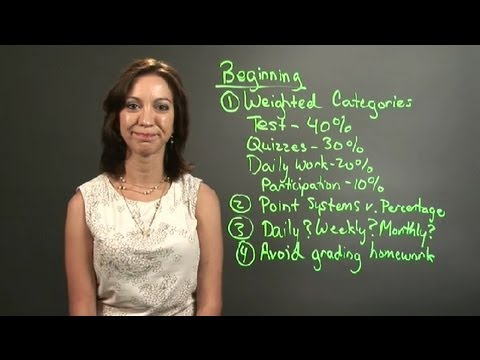 Teacher Grading Procedures : Lesson Plans For Teachers