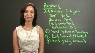 Teacher Grading Procedures : Lesson Plans For Teachers