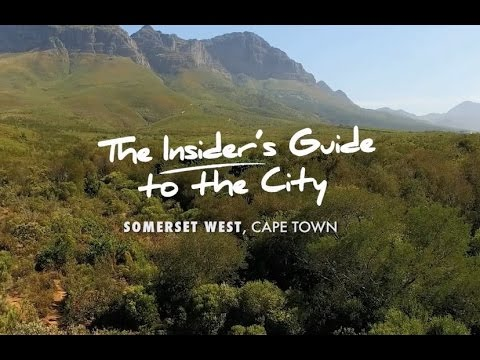 """Somerset West  """"The Insider Guide"""""""