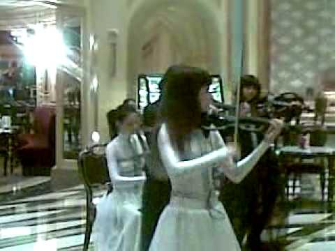 The Venetian Casino Femme String Violin Quartet
