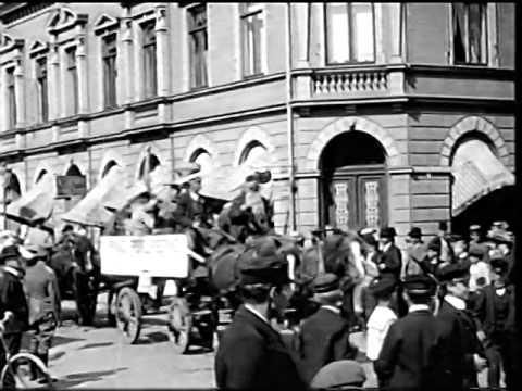 Ystad. Journalfilmer från Ystad.
