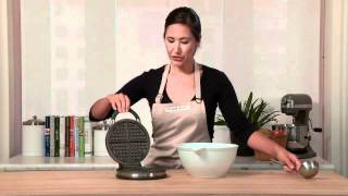How To Make Waffles In The Calpahlon Waffle Maker | Williams-sonoma