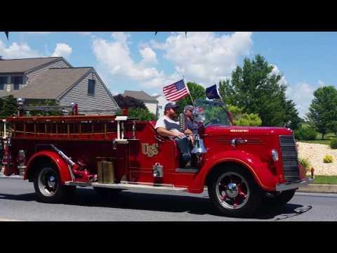 2016 Lebanon County Pa Fireman's convention parade