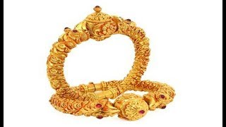 Latest collections Gold kada designs with weight new models.