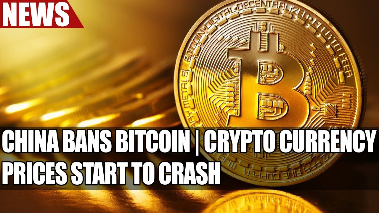 China Bans Bitcoin | Crypto Currency Prices Start To Crash
