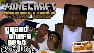 ORDER NUMBER 9 EXTRA DIP - GTA San Andreas in Minecraft Story Mode