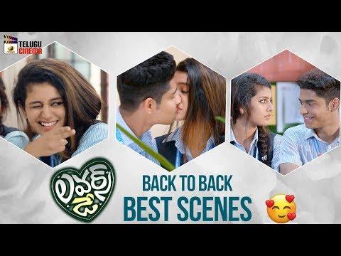 Lovers Day BACK TO BACK BEST SCENES | Priya Prakash Varrier | Omar Lulu | Mango Telugu Cinema