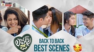 Lovers Day BACK TO BACK BEST SCENES | Priya Prakash Varrier | Omar Lulu | Mango Telugu Cinema
