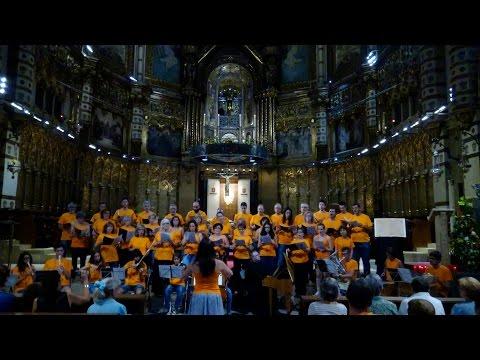 Montserrat.  Sendera de Concerts. La Sénia Montserrat