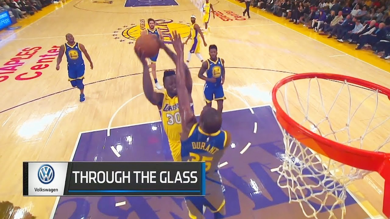 Kevin Durant Posterized By Julius Randle! Lakers vs Warriors - YouTube fb23df8f7