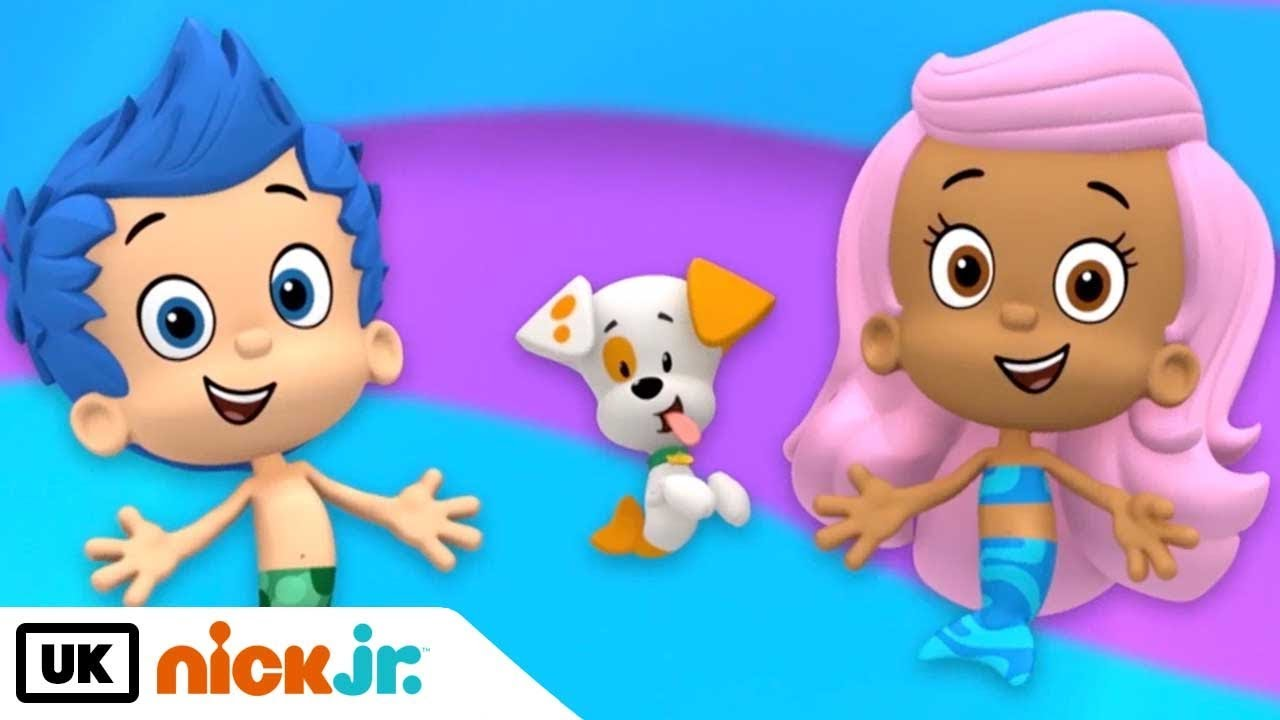 bubble guppies about the show nick jr uk youtube
