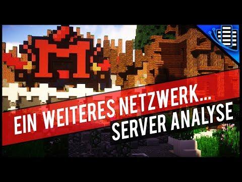 MINEPIXEL.DE 📺 MINECRAFT SERVER ANALYSE   Minecraft Server Vorstellung 1.8 - 1.12