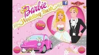 Игры Барби суета свадьба ( Barbie Wedding Rush)