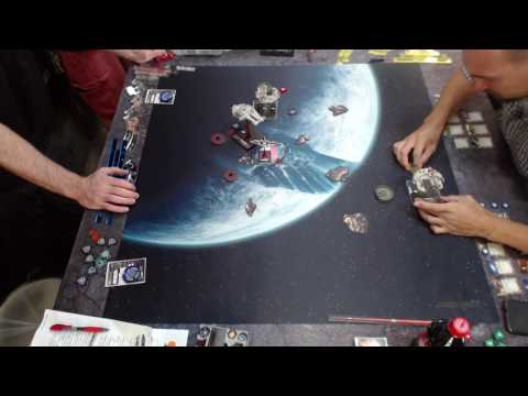 X wing miniature tournament Dash Nora vs Dangaroo
