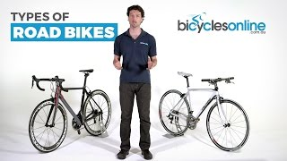What are the different types of Road Bikes?