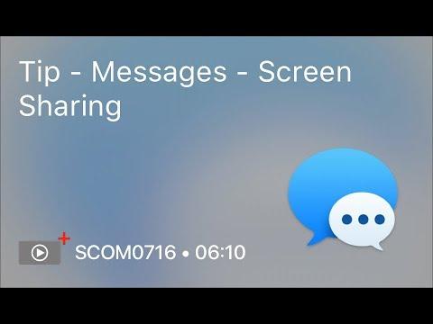 SCOM0716 - Tip - Messages - Screen Sharing