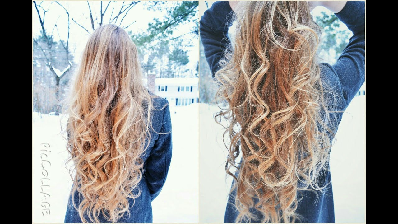 5 Minute Tumblr Curls Youtube
