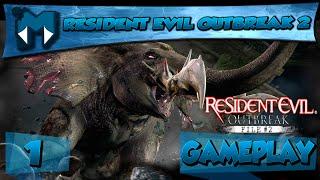 RESIDENT EVIL OUTBREAK 2 COOP #1 - ELEFANTE VIADO! / Série 1080p  PT-BR