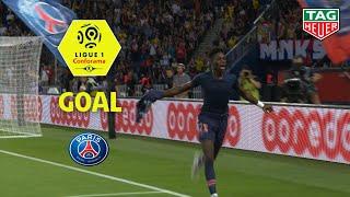 Goal Timothy WEAH (89') / Paris Saint-Germain - SM Caen (3-0) (PARIS-SMC) / 2018-19