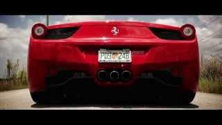 Ferrari 458 Italia Cars Start-up, Exhaust and Launch