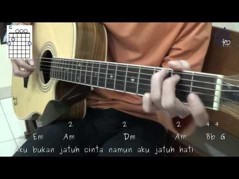 5 MENIT Belajar Kunci Dan Genjrengan Gitar (Jatuh Hati - Raisa)